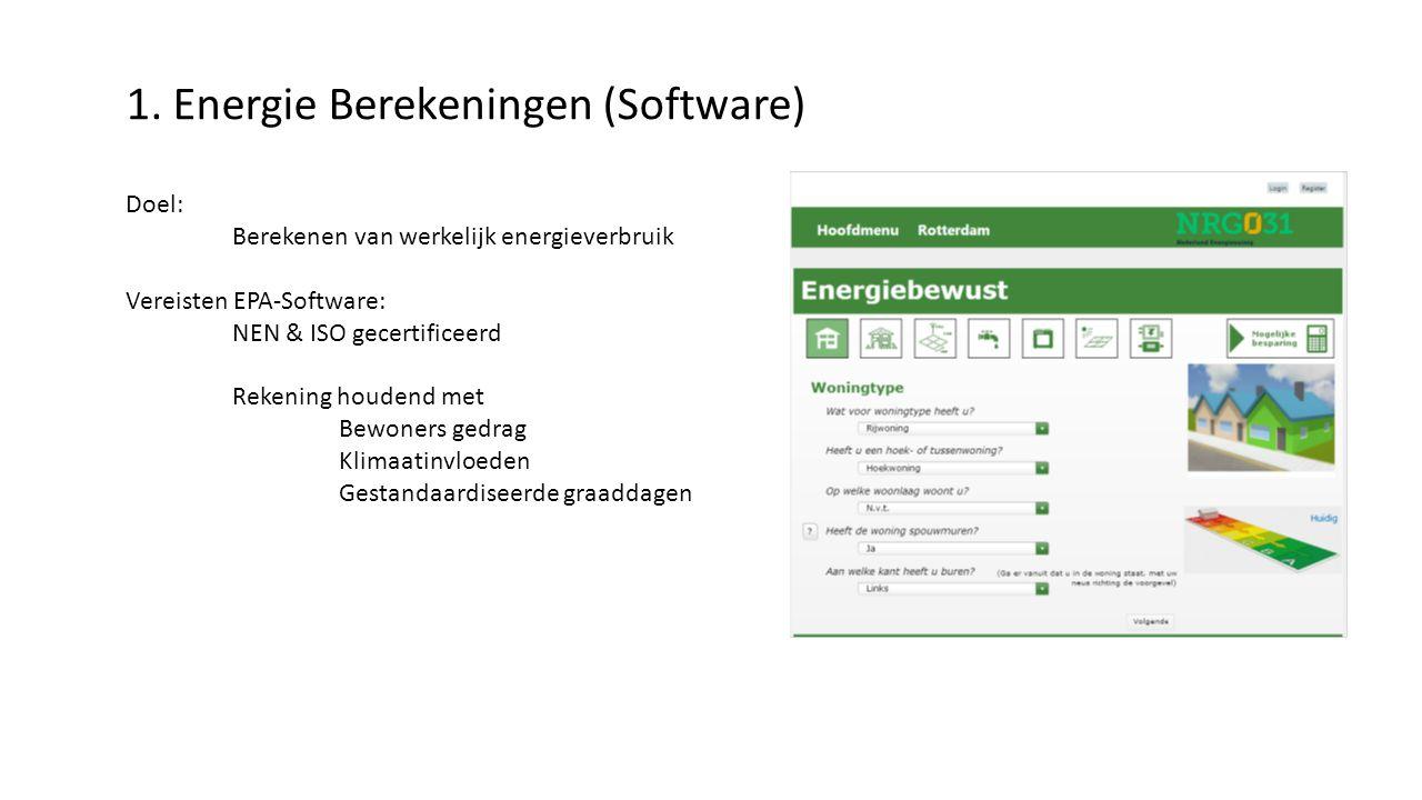 1. Energie Berekeningen (Software)