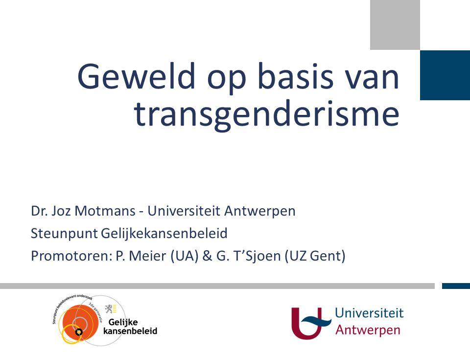 Geweld op basis van transgenderisme