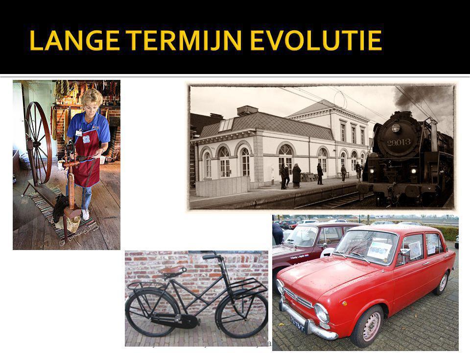 LANGE TERMIJN EVOLUTIE
