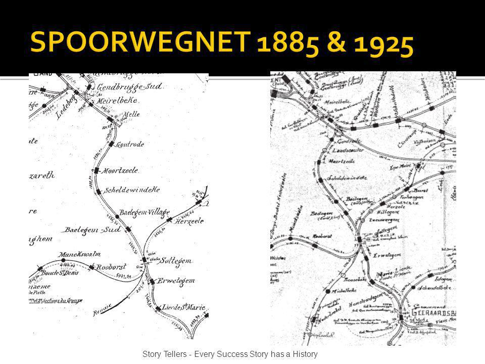 SPOORWEGNET 1885 & 1925 Story Tellers - Every Success Story has a History