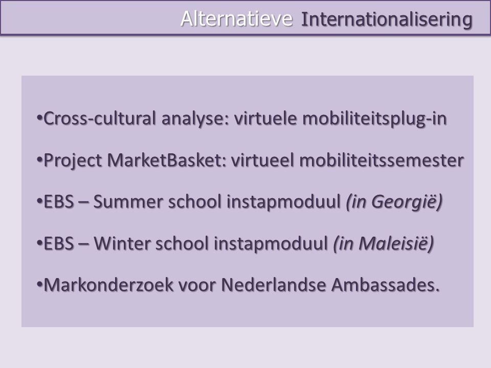 Alternatieve Internationalisering