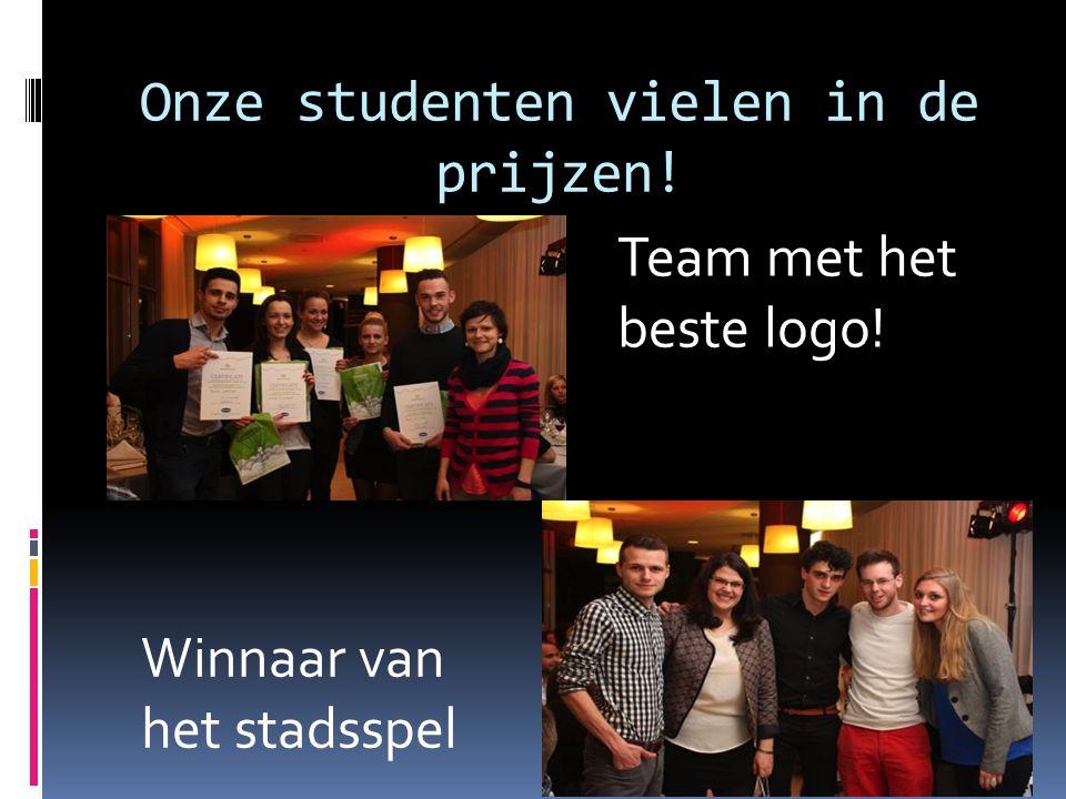 Onze studenten vielen in de prijzen!