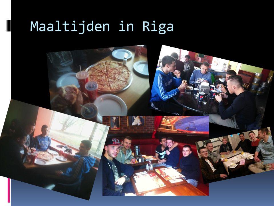 Maaltijden in Riga