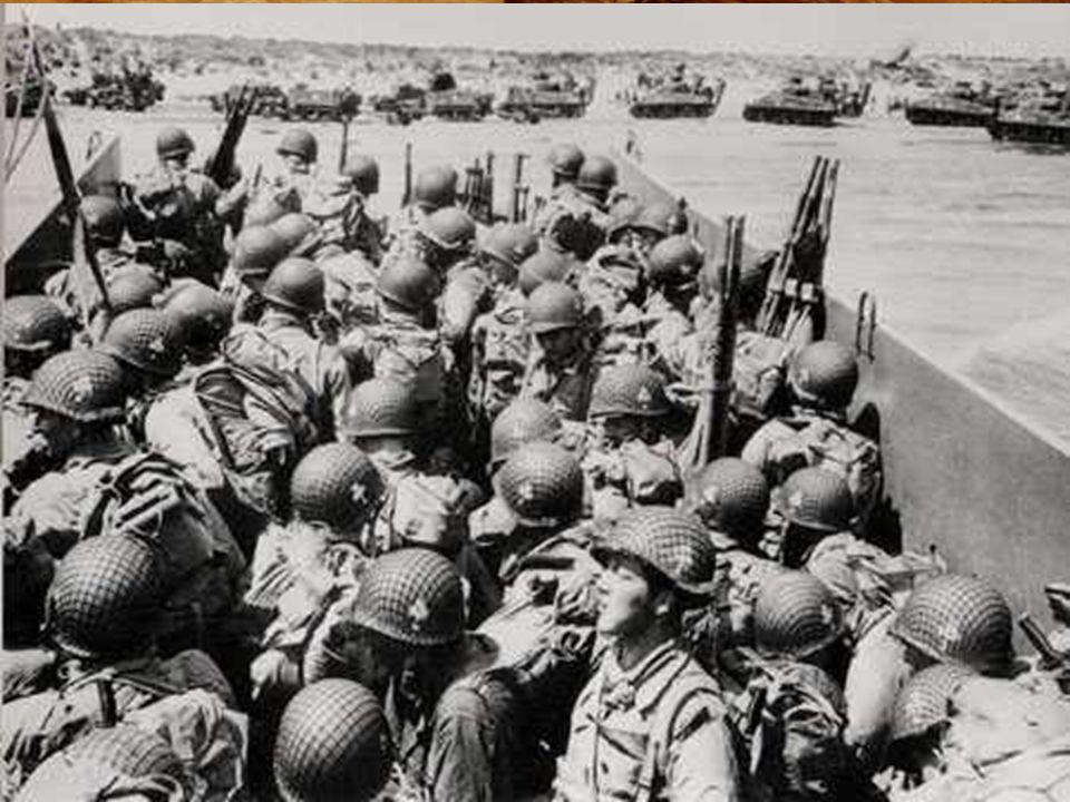 Op 6 juni 1944 om 6u30, ontscheept het 8e regiment van de 4e amerikaanse infanterie divisie onder bevel van generaal Barton, gesteund door amphibie tanks, voor de duinen van La Madeleine, gelegen op enkele km van de plaats Sainte-Marie-du-Mont.