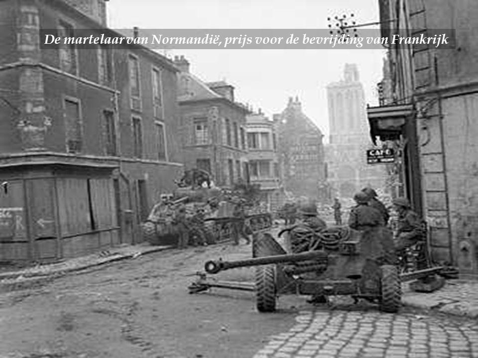 De martelaar van Normandië, prijs voor de bevrijding van Frankrijk