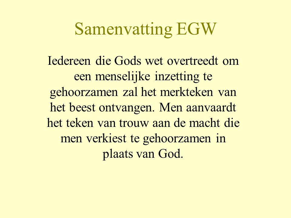 Samenvatting EGW
