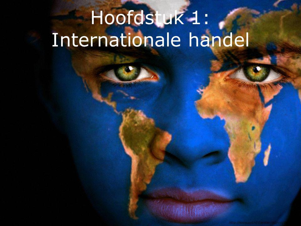 Hoofdstuk 1: Internationale handel