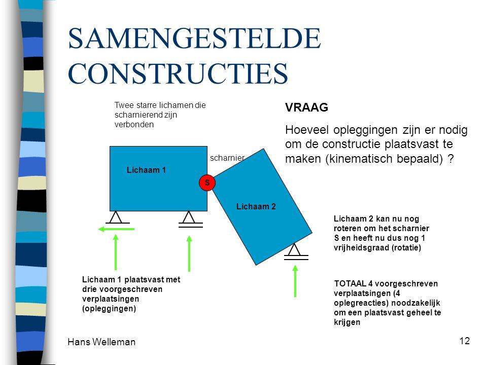 SAMENGESTELDE CONSTRUCTIES