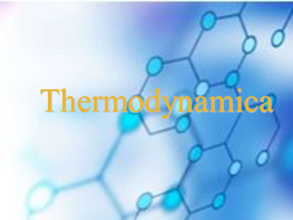Thermodynamica