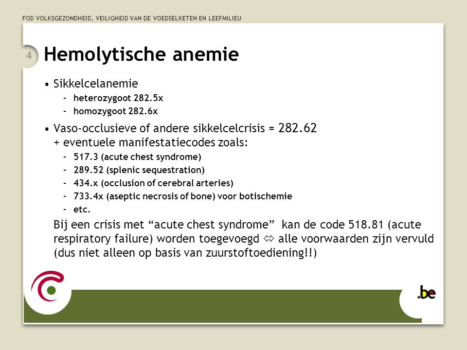 Hemolytische anemie Sikkelcelanemie