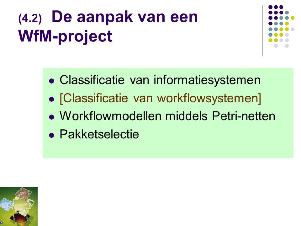(4.2) De aanpak van een WfM-project