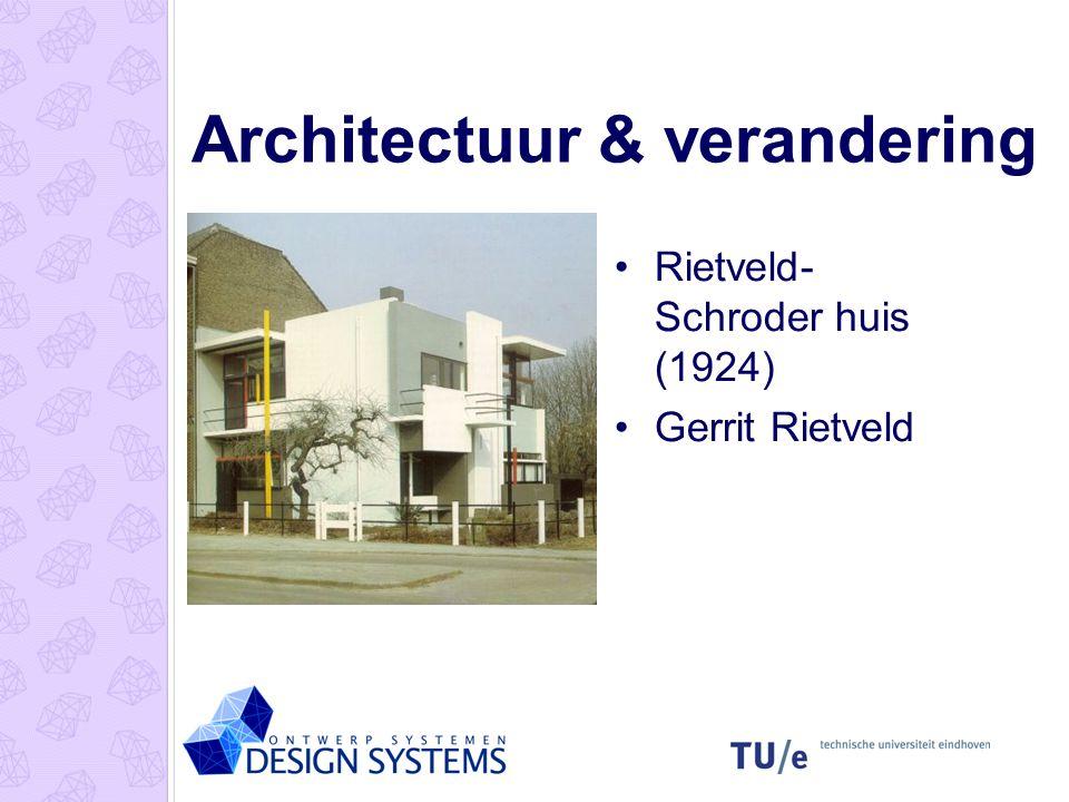 Architectuur & verandering