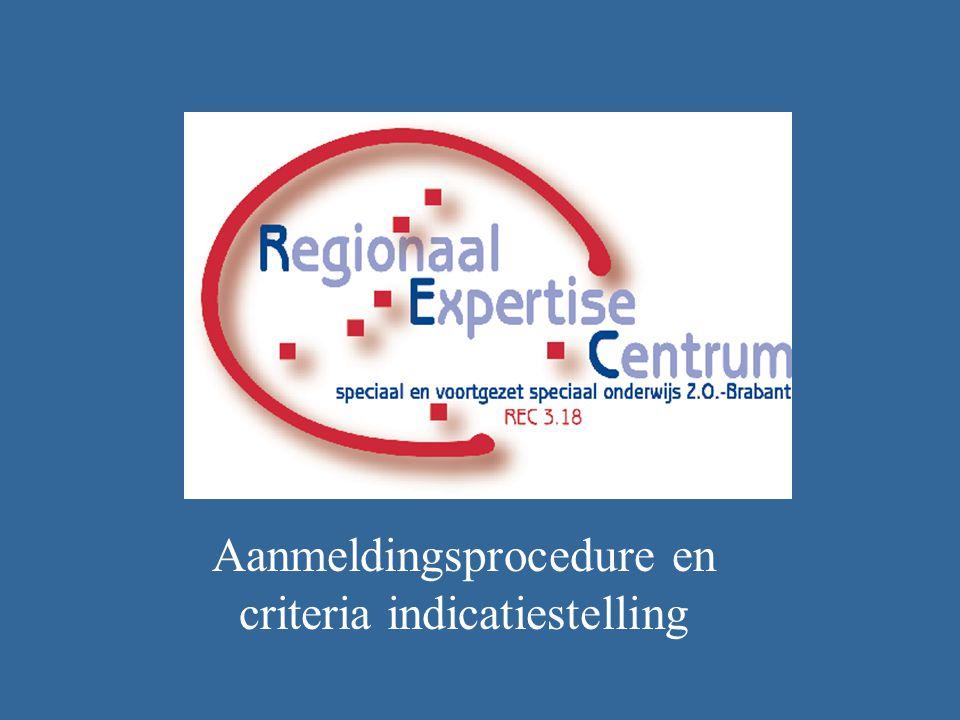 Aanmeldingsprocedure en criteria indicatiestelling