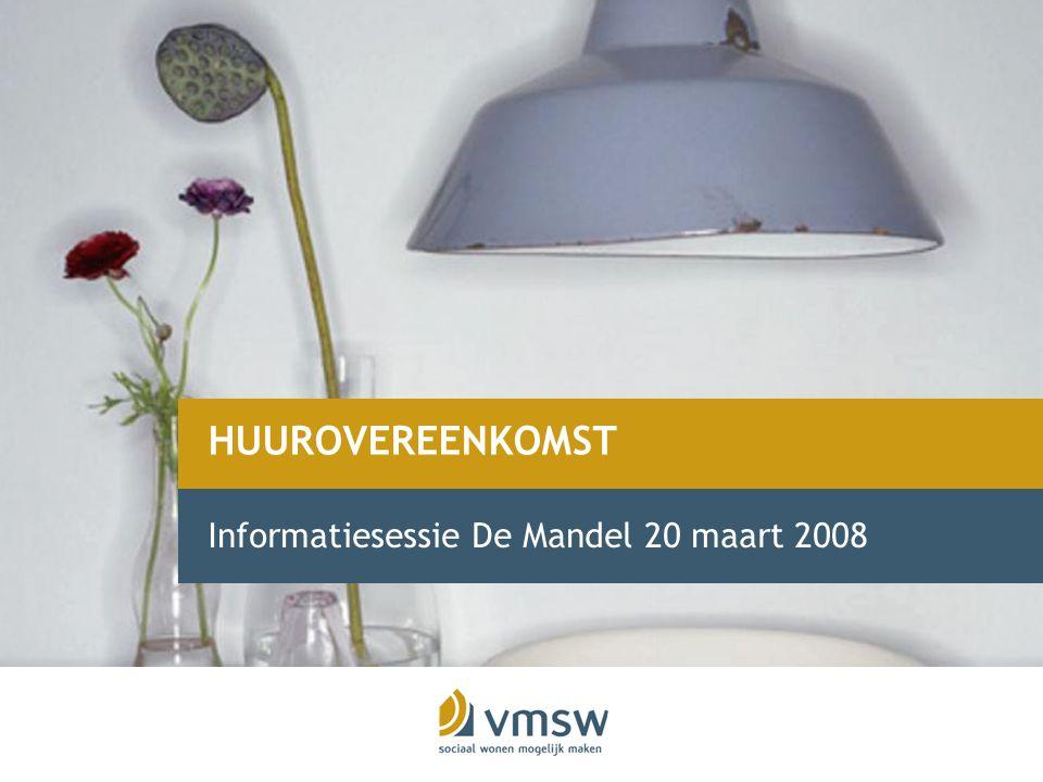 Informatiesessie De Mandel 20 maart 2008