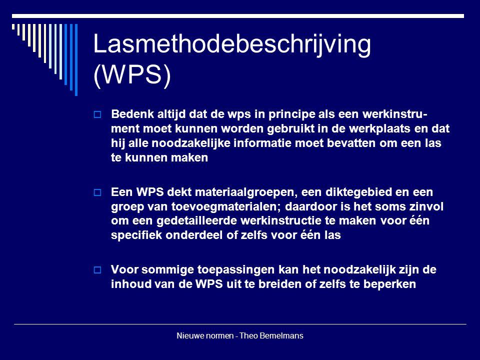 Lasmethodebeschrijving (WPS)