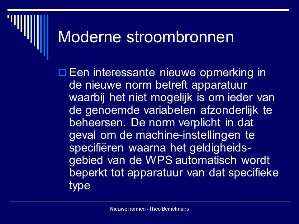 Moderne stroombronnen