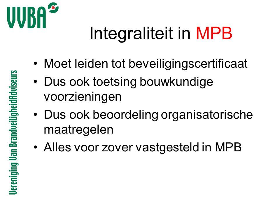 Integraliteit in MPB Moet leiden tot beveiligingscertificaat