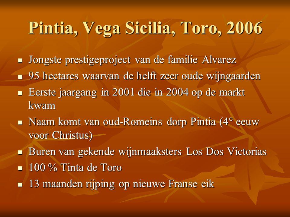 Pintia, Vega Sicilia, Toro, 2006