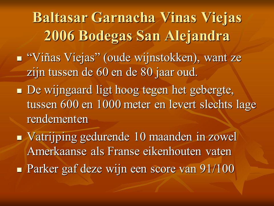 Baltasar Garnacha Vinas Viejas 2006 Bodegas San Alejandra