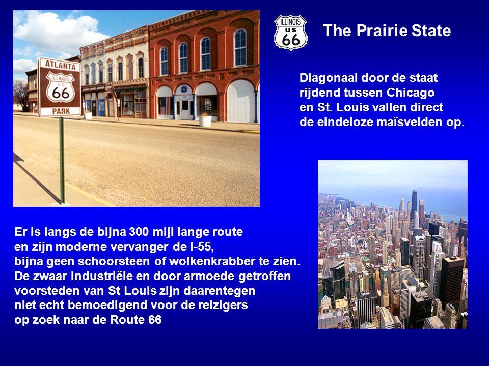 The Prairie State Diagonaal door de staat rijdend tussen Chicago