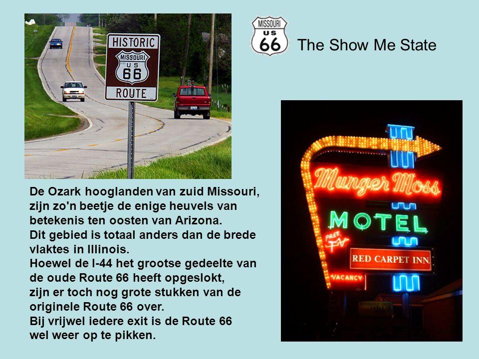 The Show Me State De Ozark hooglanden van zuid Missouri,