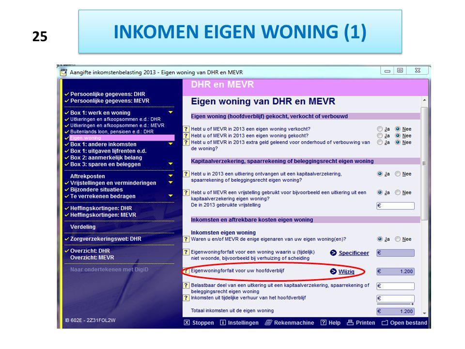 INKOMEN EIGEN WONING (1)