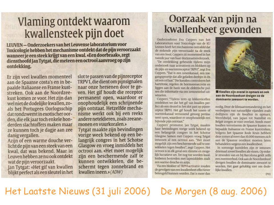Het Laatste Nieuws (31 juli 2006)