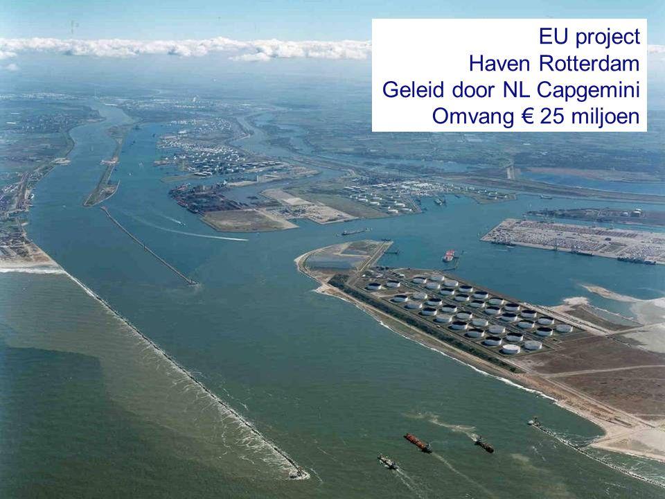 Geleid door NL Capgemini Omvang € 25 miljoen