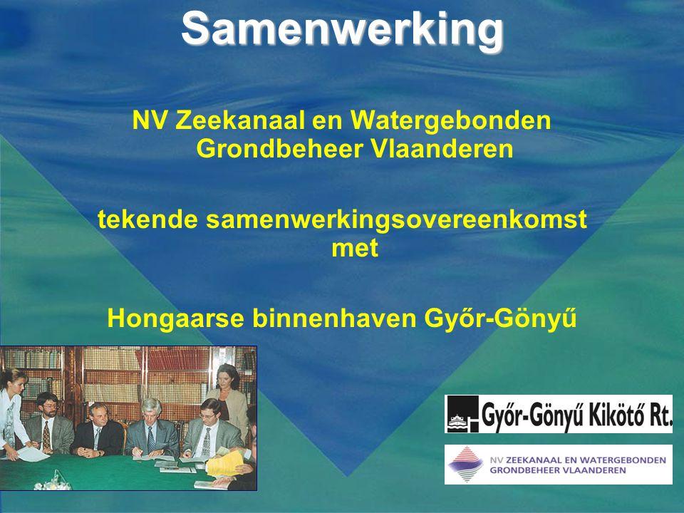 Samenwerking NV Zeekanaal en Watergebonden Grondbeheer Vlaanderen