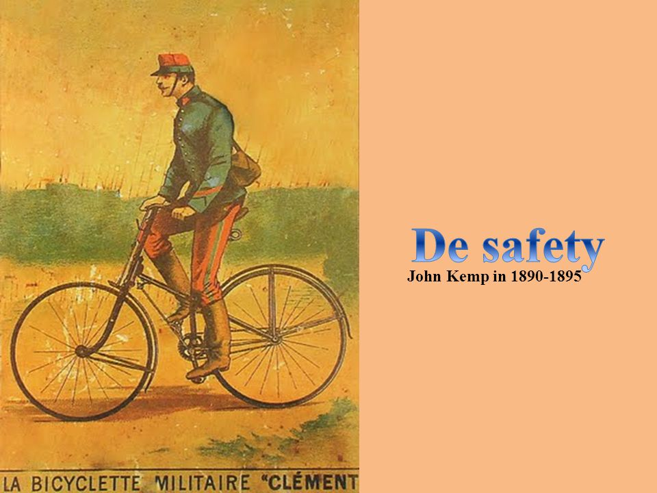 De safety John Kemp in 1890-1895