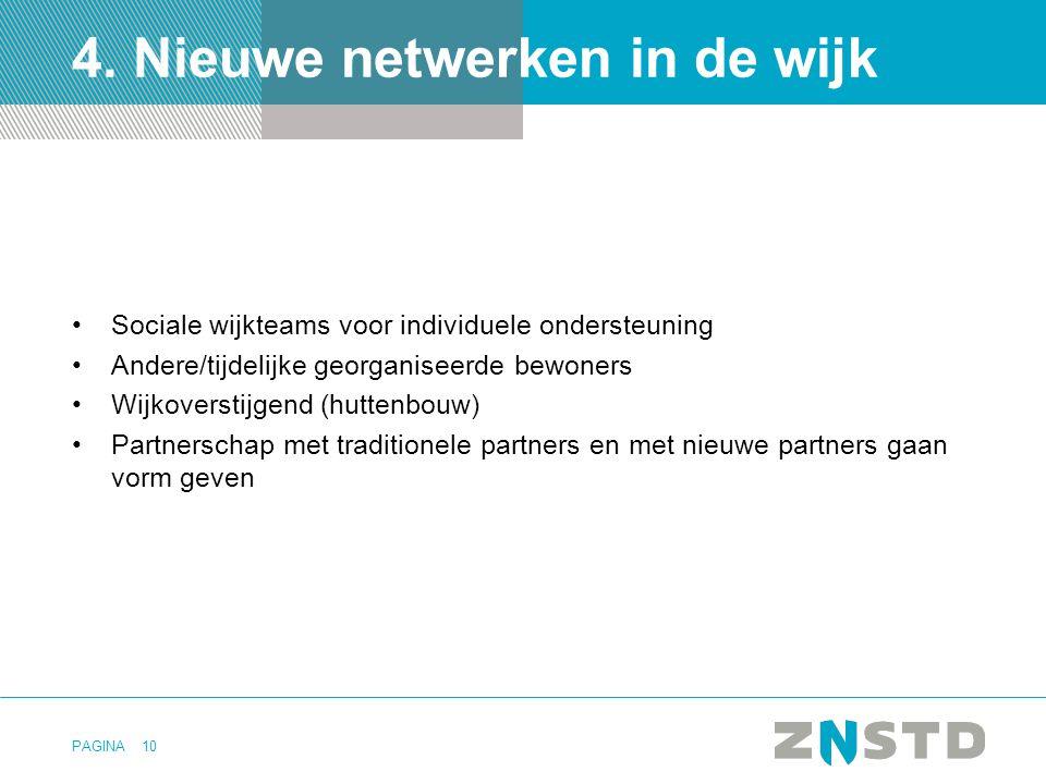 4. Nieuwe netwerken in de wijk