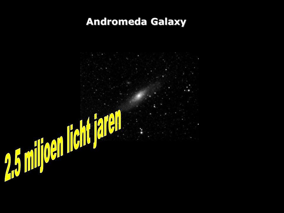 Andromeda Galaxy 2.5 miljoen licht jaren