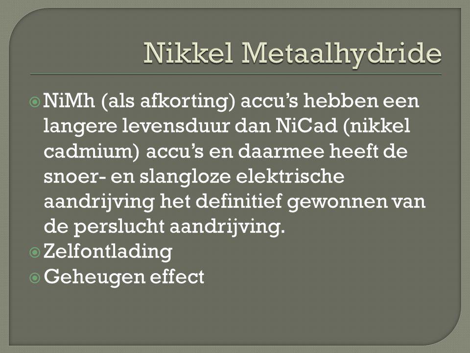 Nikkel Metaalhydride