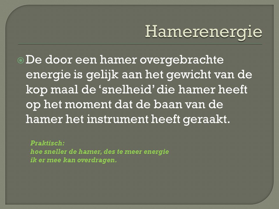Hamerenergie