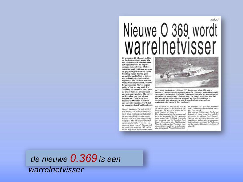 de nieuwe 0.369 is een warrelnetvisser