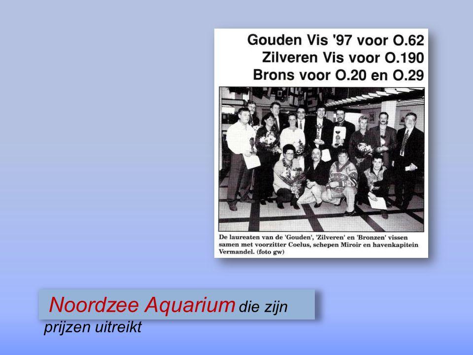 Noordzee Aquarium die zijn prijzen uitreikt