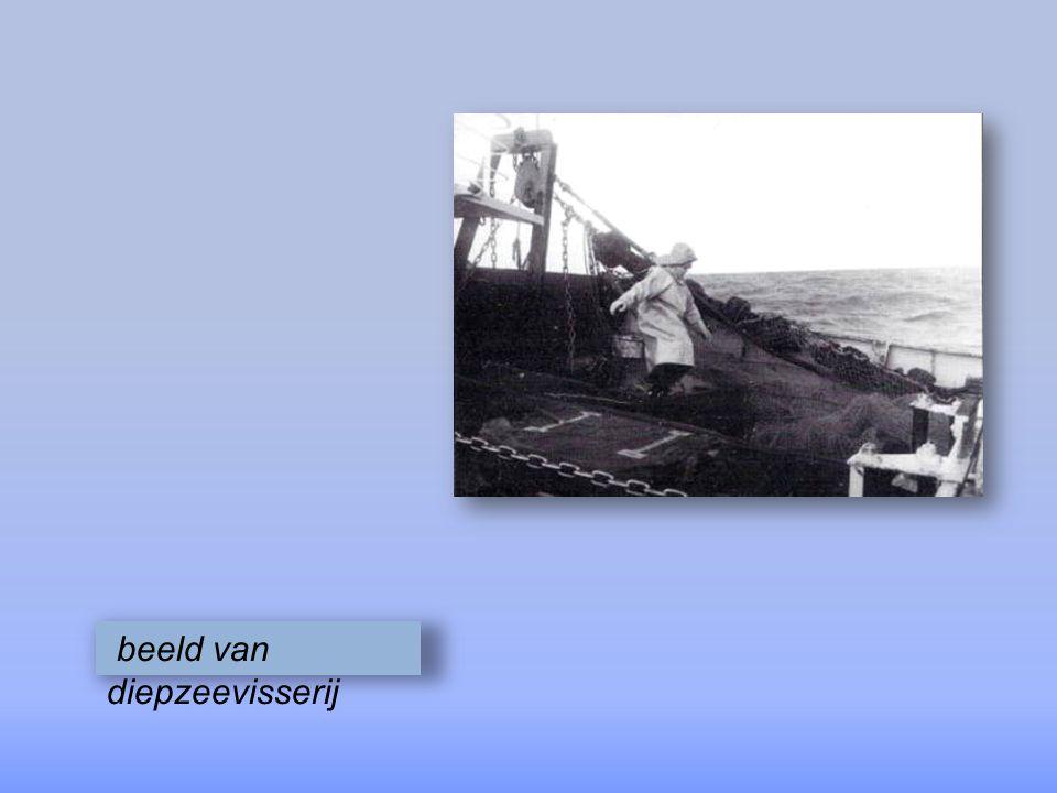 beeld van diepzeevisserij