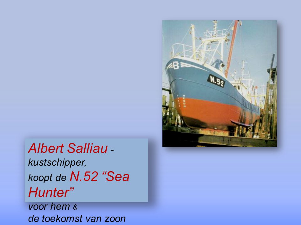 Albert Salliau - kustschipper,