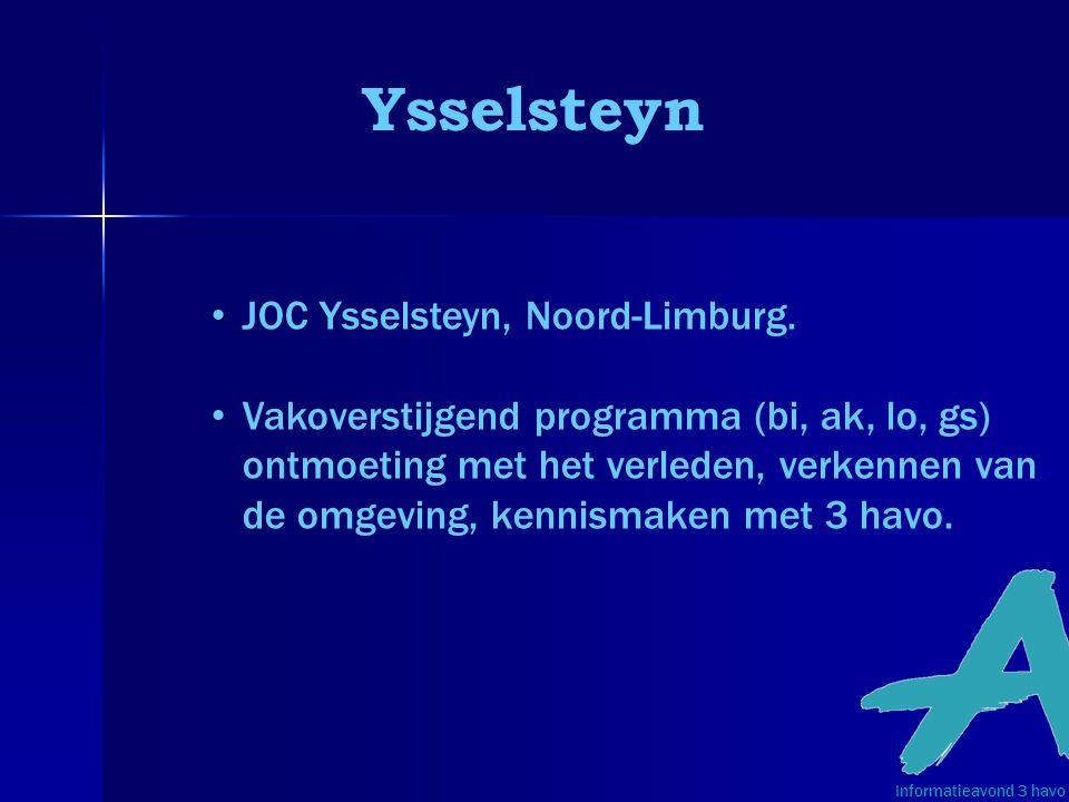 Ysselsteyn JOC Ysselsteyn, Noord-Limburg.