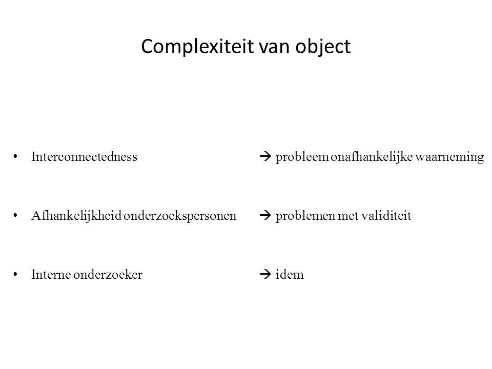 Complexiteit van object
