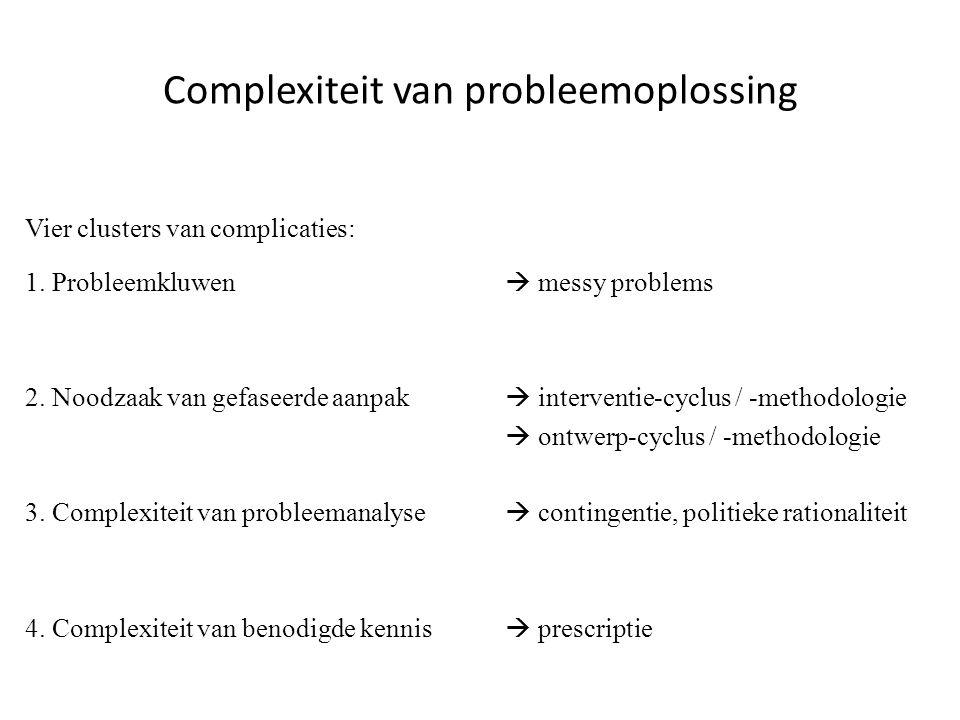 Complexiteit van probleemoplossing