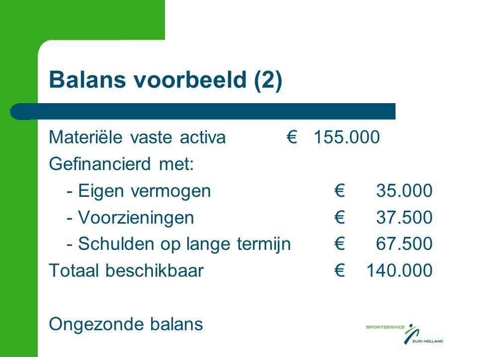 Balans voorbeeld (2)