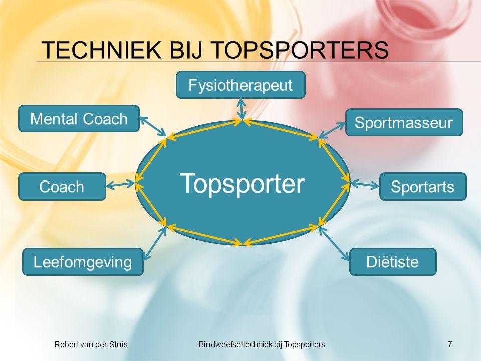techniek bij Topsporters