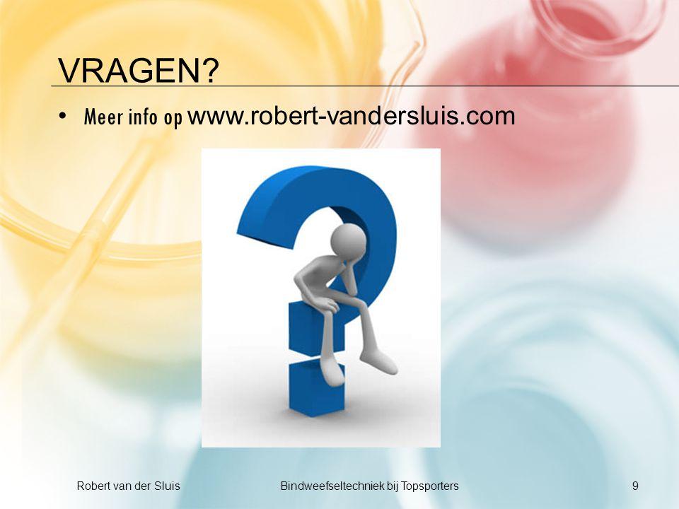 Robert van der Sluis Bindweefseltechniek bij Topsporters