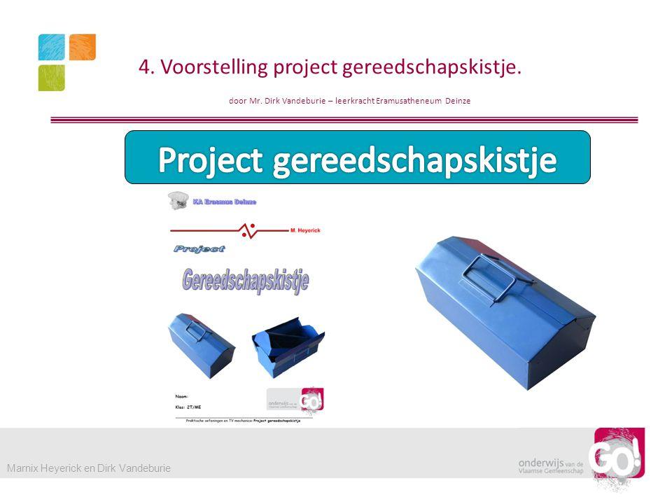 Project gereedschapskistje
