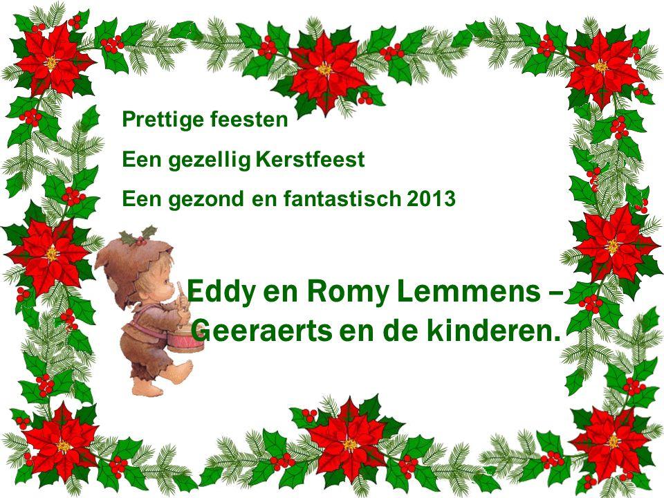 Eddy en Romy Lemmens – Geeraerts en de kinderen.