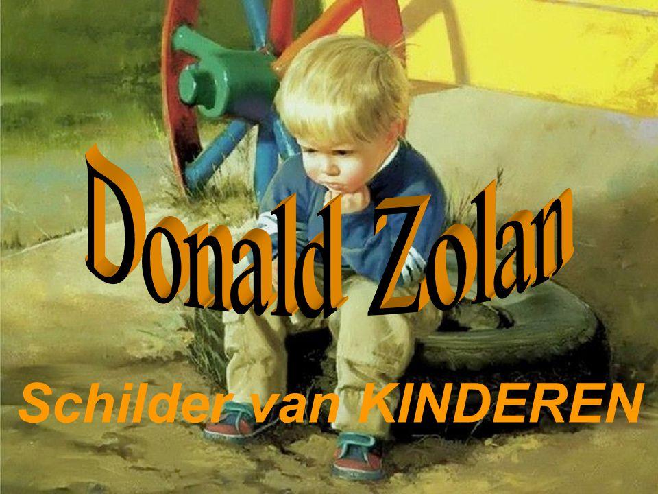 Donald Zolan Schilder van KINDEREN