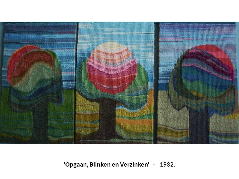 Opgaan, Blinken en Verzinken - 1982.