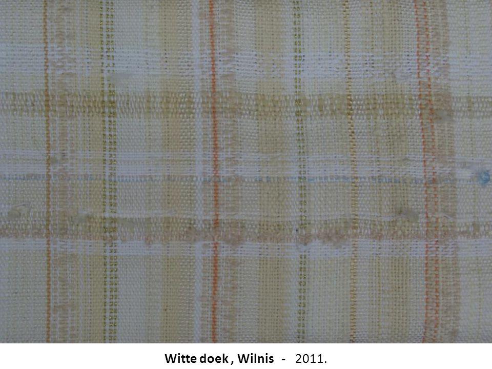 Witte doek , Wilnis - 2011.