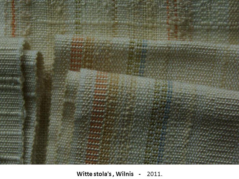 Witte stola s , Wilnis - 2011.